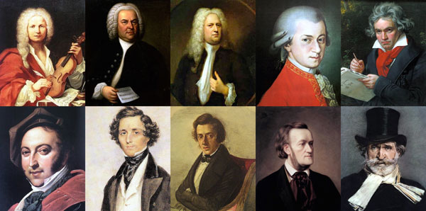 Famous Classical Composers